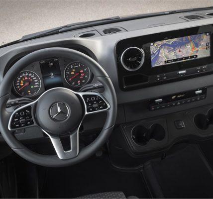 Mercedes Benz prepara todo para la llegada del Sprinter Van 2019