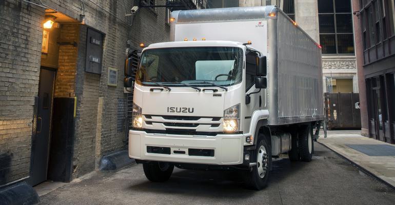 Isuzu FTR 2018 de 4 cilindros