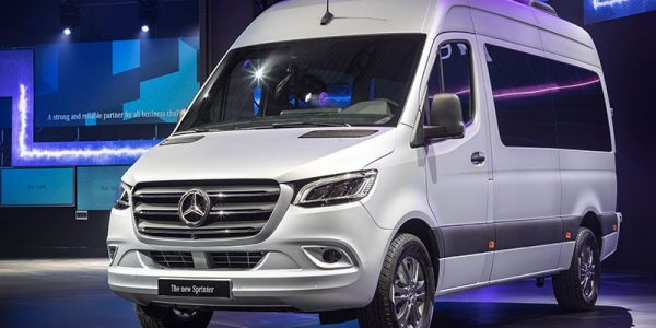 Mercedes Benz Sprinter Van 2019 en exhibición
