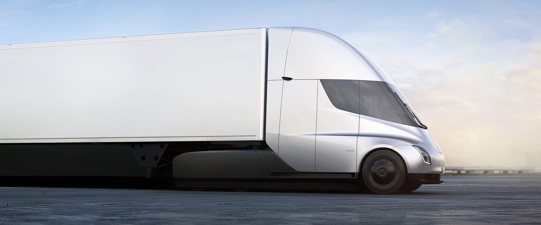 Semi de Tesla. el camión eléctrico de Elon Musk