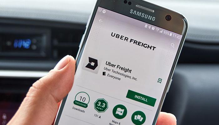 Uber Freight app se expande