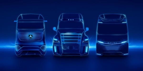 Camiones eléctricos de Daimler Trucks