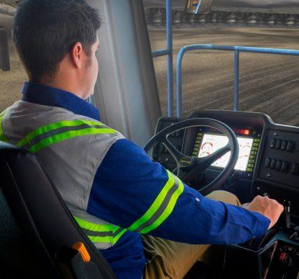 Simulador de conducción de camiones