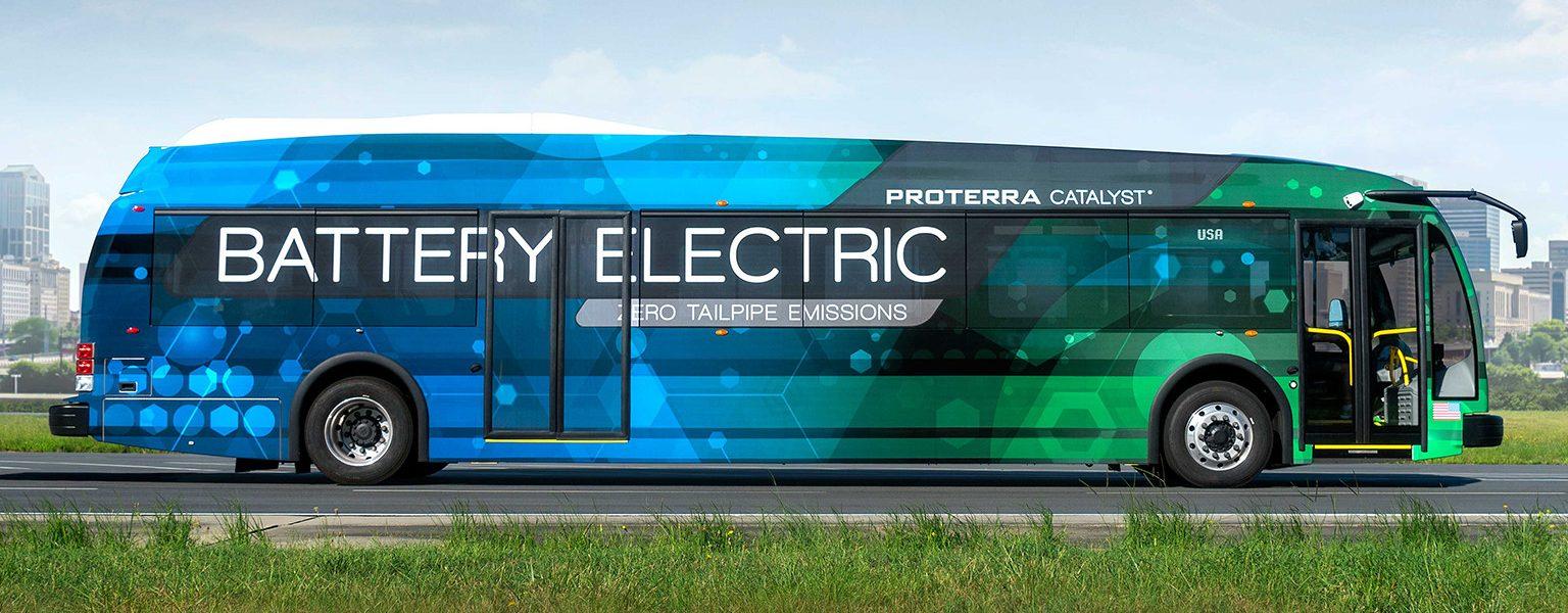Transmisiones eléctricas de Proterra