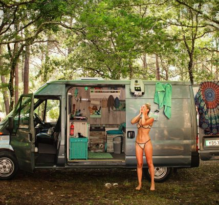 Convirtiendo una van Ford Transit para vivir