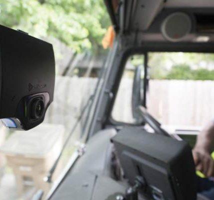 Cámaras de vigilancia en camiones para conductor
