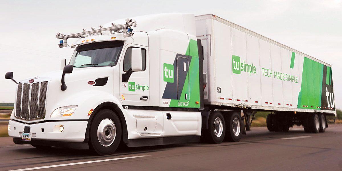 Camión autónomo de TuSimple