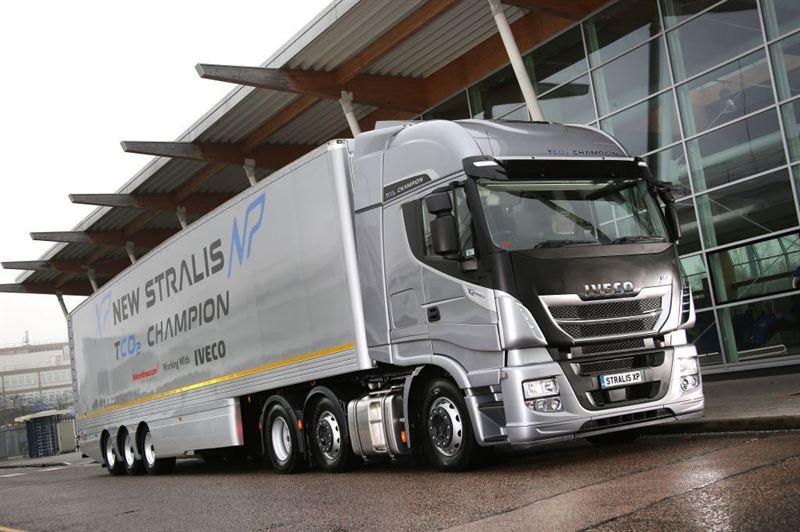 Camión de Iveco Trucks