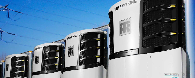 Camiones refrigerados de Thermo King