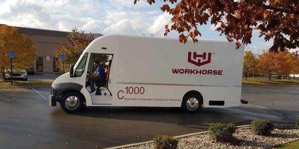 Workhorse C1000 camión de reparto eléctrico