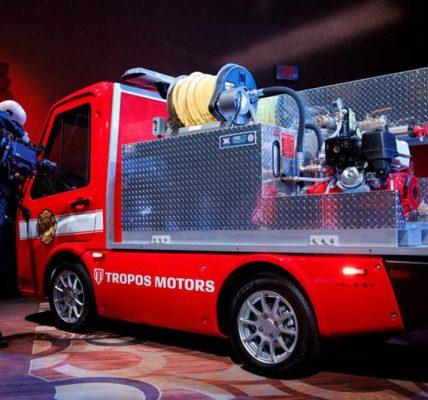 Camión de bomberos de Tropos Motors